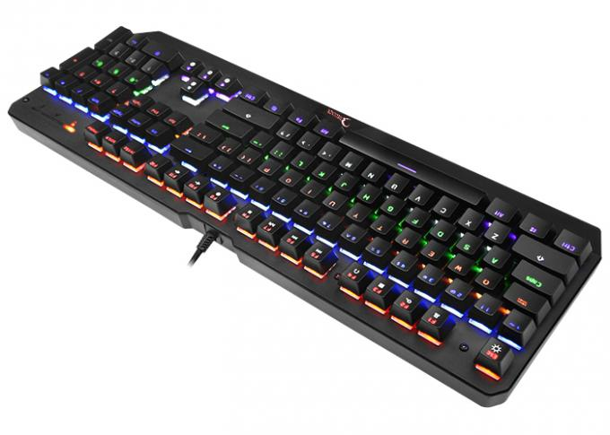 KG900 104 Keys Mechanical Wired LED Backlit Gaming Keyboard with Blue Switch,Anti-ghosting Gaming Keyboard