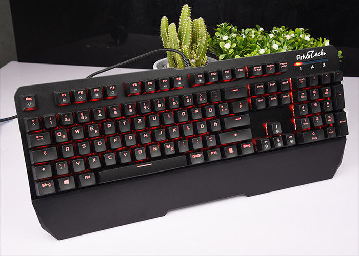 RECCAZR Black White RGB Mechanical Keyboard Wired For Windows / Xp KG901