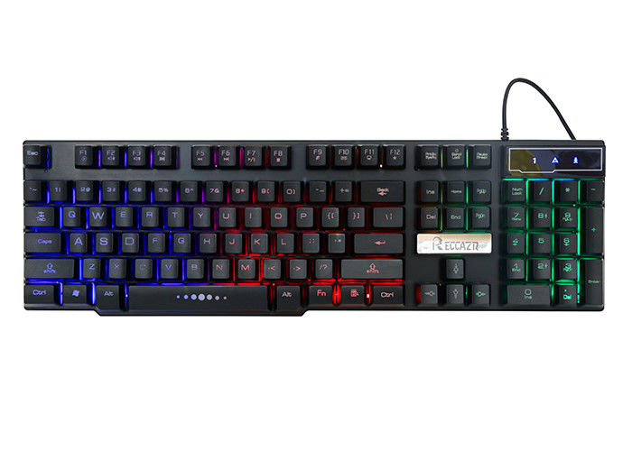 Gk300 Laptop High End Gaming Keyboard , Glowing Gaming Light Up Keyboard