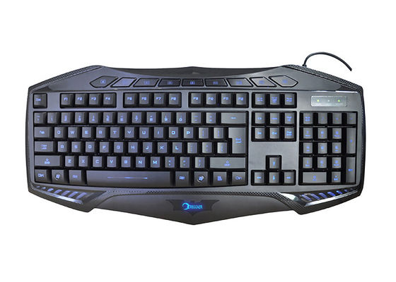 K400 Wired Gaming Computer Keyboard LED Light Adjustable With Letter Illumination