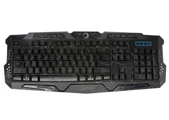 Professional Gaming Keyboard For Games , Pc Game Keyboard ABS Upper Panel