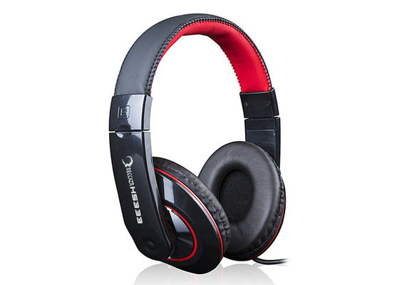 Foldable Stereo Computer Gaming Headphones For Cellphone Smartphone Black