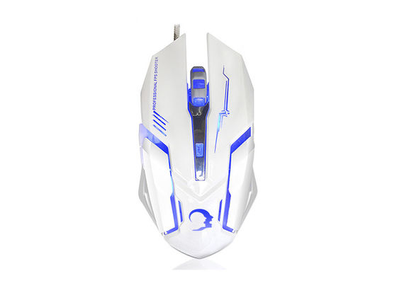 Eco Friendly Computer Gaming Mouse With CE / ROHS / FCC Adjustable DPI