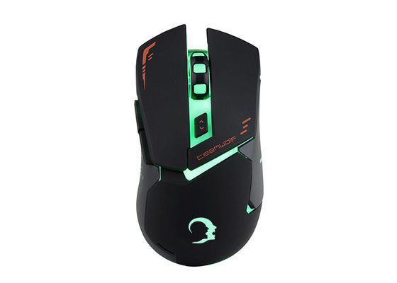 RECCAZR MS390 6D optical Computer Gaming Mouse with adjustable 3200 DPI , up to 6 Buttons , 7 Soothing LED Lighting