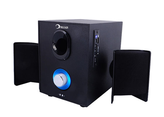 Convenient Desktop Active 2.1 PC Speakers For Smartphones / DVD Players