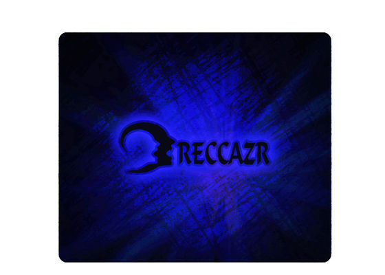RECCAZR Durable Large Gaming Mouse Pad Personalized Soft Rubber Bottom