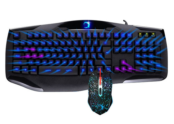 Fashionable Led Keyboard And Mouse Combo Bundle For PC Computer Gamer