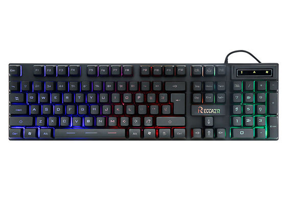 Light Up Multimedia Gaming Computer Keyboard Backlit 6 Leys Anti - Ghosting
