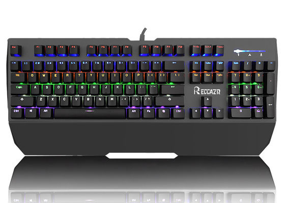 Color Backlit 104 Key Illuminated Mechanical Keyboard For Gamers and Office